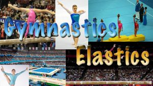 'Dedham's Got Talent': Gymnastics segment title card created by Nick Iandolo.