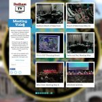 Dedham Television's MeetingVids§ VOD homepage; entire website created by Nick Iandolo.