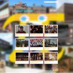 Dedham Television's SchoolSpaceπ VOD homepage; entire website created by Nick Iandolo.
