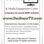 Dedham TV's new website ad for Dedham Times created by Nick Iandolo.