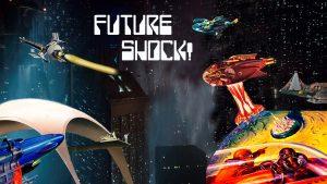 Future Shock segment title card for 'NICK'S SCI-FI CORNER' created by Nick Iandolo.