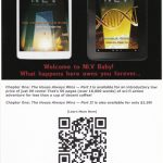 NLV (a.k.a. New Las Vegas) EBook series written by Nick Iandolo, promotional post card created by Nick Iandolo.