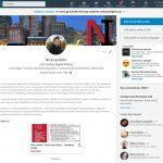 Nick Iandolo LinkedIn Profile Page Excerpt.