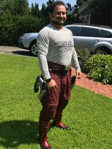 Nick Iandolo as Star Lord (image 02) for FanExpo Boston 2018. Fitness 50 Cosplay.