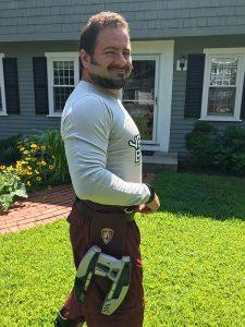 Nick Iandolo as Star Lord (image 01) for FanExpo Boston 2018. Fitness 50 Cosplay.