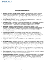 Viisage Differentiators document for brand positioning, written by Nick Iandolo at L-1 Identity Solutions—thumbnail link to actual document.