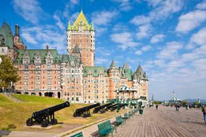 Château Frontenac is one of Canada's greatest railway hotels and the resplendent heart of Quebec City!