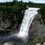 The grandeur that is the Montmorency Falls of Quebec City!