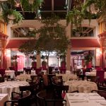 Salle a Diner Jardin – The Dinner Garden at Saint Amour. A truly beautiful place to eat in Quebec City!